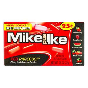 Mike and Ike Redrageous 141g - Candy Mail UK