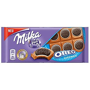 Load image into Gallery viewer, Milka Oreo Sandwich 92g - Candy Mail UK