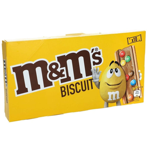 M&M Biscuit 10 Pack 198g - Candy Mail UK