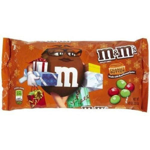 M&M Christmas Peanut Butter 283.5g - Candy Mail UK