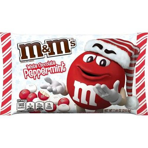 M&M White Chocolate Peppermint 210g - Candy Mail UK
