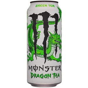 Monster Dragon Tea + Green Tea Mate USA 473 ml - Candy Mail UK