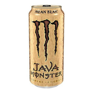Monster Mean Bean Java Coffee + Energy USA 443ml - Candy Mail UK