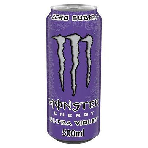 Monster Ultra Zero Violet 500ml - Candy Mail UK