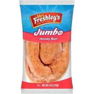 Load image into Gallery viewer, Mrs. Freshley's Jumbo Honey Bun 142g - Candy Mail UK