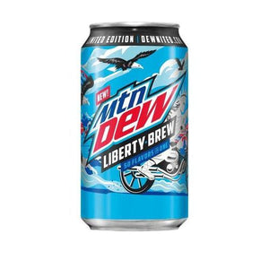 Mtn Dew Liberty Brew 355ml - Candy Mail UK