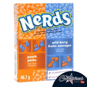 Nerds Peach and Wild Berry Fruits 47g - Candy Mail UK