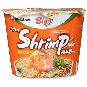 Load image into Gallery viewer, Nongshim Big Bowl Noodle (Shrimp) 115g - Candy Mail UK