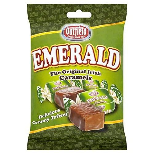 Oatfield Emerald Original Irish Caramels 150g - Candy Mail UK