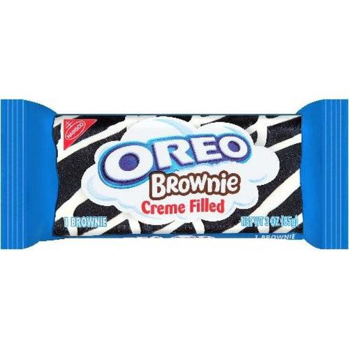 Oreo Creme Filled Brownie 85g - Candy Mail UK