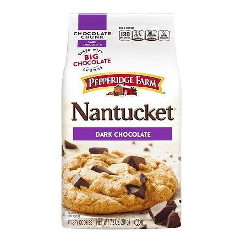 Load image into Gallery viewer, Pepperidge Farm Nantucket Dark Chocolate Cookies 204g - Candy Mail UK