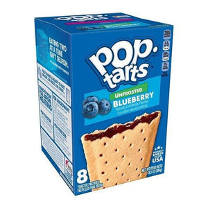 Pop Tarts Unfrosted Blueberry 384g - Candy Mail UK