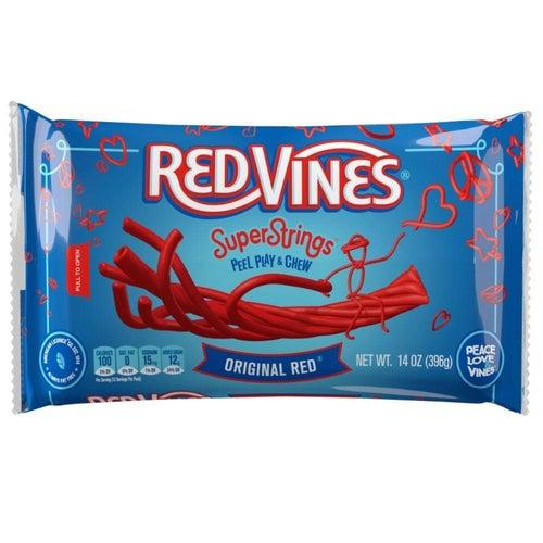 Redvines Super Strings 396g - Candy Mail UK
