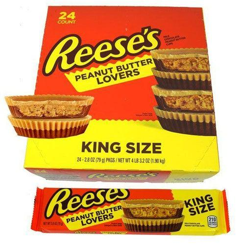 Reese's Peanut Butter Lovers Kingsize 79g - Candy Mail UK