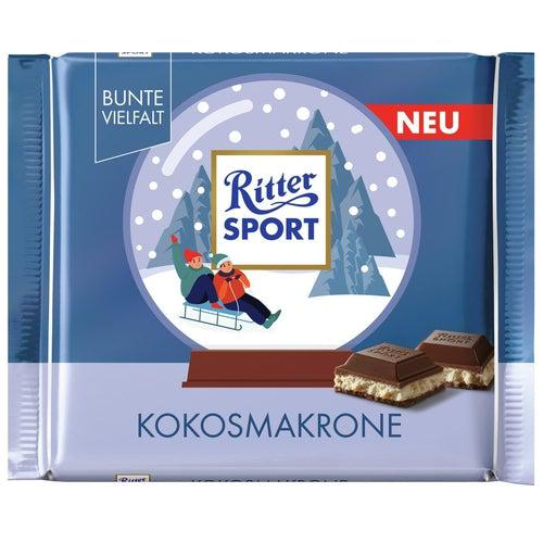 Ritter Sport Limted Edition Coconut Macaroon 100g - Candy Mail UK