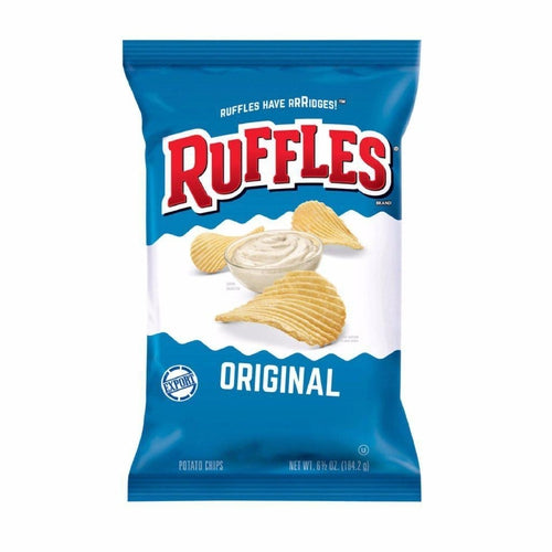 Load image into Gallery viewer, Ruffles Potato Chips Original 184g - Candy Mail UK