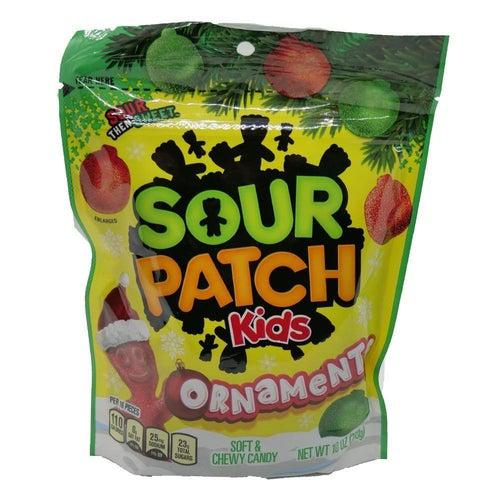 Sour Patch Kids Festive Ornaments 283g - Candy Mail UK