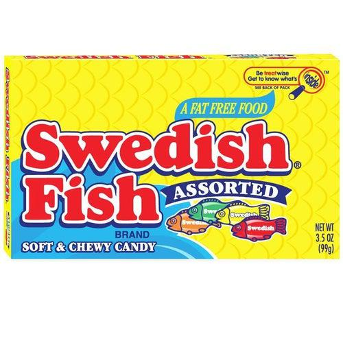 Swedish Fish Assorted Theatre Box 99g - Candy Mail UK