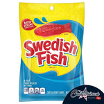 Swedish Fish Original Bag 226g - Candy Mail UK