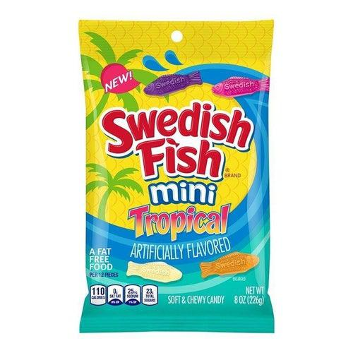 Load image into Gallery viewer, Swedish Fish Tropical Bag 226g - Candy Mail UK