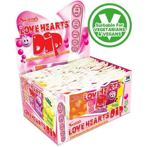 Swizzels Love Hearts Dip 23g - Candy Mail UK