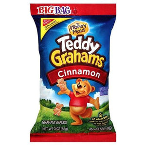Teddy Grahams Cinnamon Big Bag 85g - Candy Mail UK