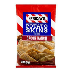 TGI Fridays Bacon Ranch Potato Skins 113g - Candy Mail UK