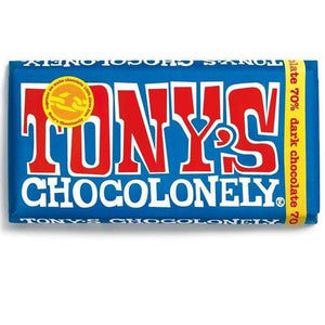 Tony's Chocolonely 70% Extra Dark Chocolate 180g - Candy Mail UK