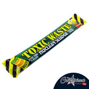 Toxic Waste Nuclear Sludge Sour Apple Bar 20g - Candy Mail UK