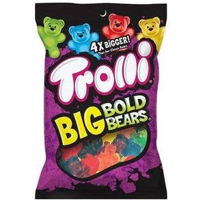 Load image into Gallery viewer, Trolli Sourbrite Big Bold Bears 141g - Candy Mail UK
