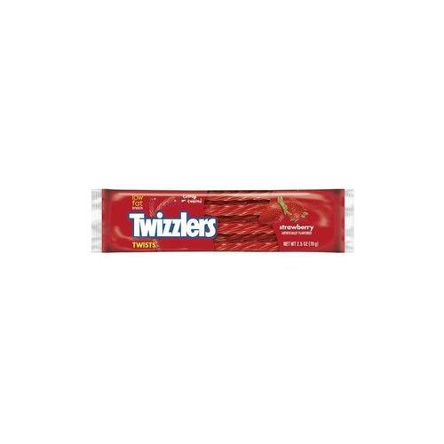 Twizzlers Strawberry Twists 70g - Candy Mail UK