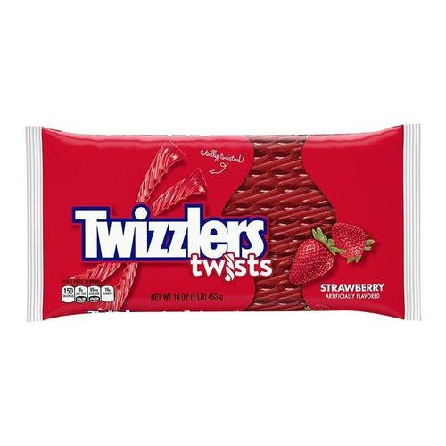 Twizzlers Strawberry Twists Big Pack 453g - Candy Mail UK