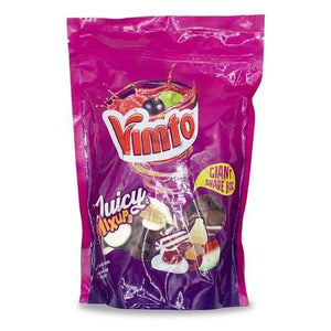 Vimto Juicy Mix-Ups Giant Sharing Pouch 750g - Candy Mail UK
