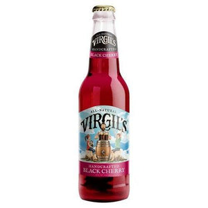 Load image into Gallery viewer, Virgil's Black Cherry Cream Soda 355ml - Candy Mail UK