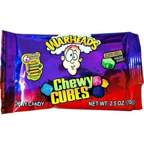 Warheads Chewy Cubes 70g - Candy Mail UK