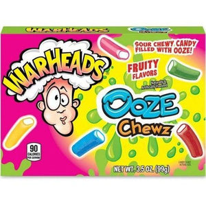 Load image into Gallery viewer, Warheads Ooze Chews Theatre Box 99g - Candy Mail UK