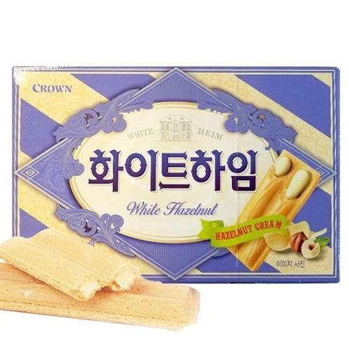 White Heim (White Hazelnut Cream Wafer) 47g - Candy Mail UK