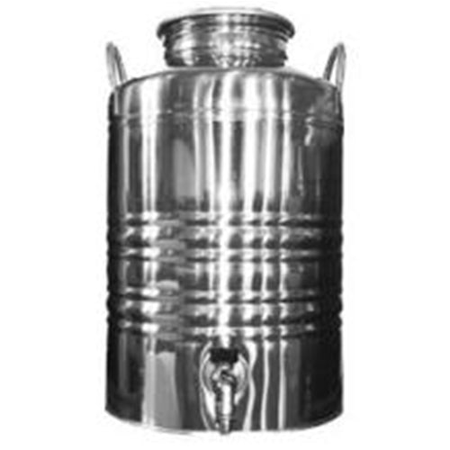 12 Liter Superfustinox with Stainless Steel Spigot