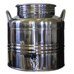 15 Liter Superfustinox with Stainless Steel Spigot