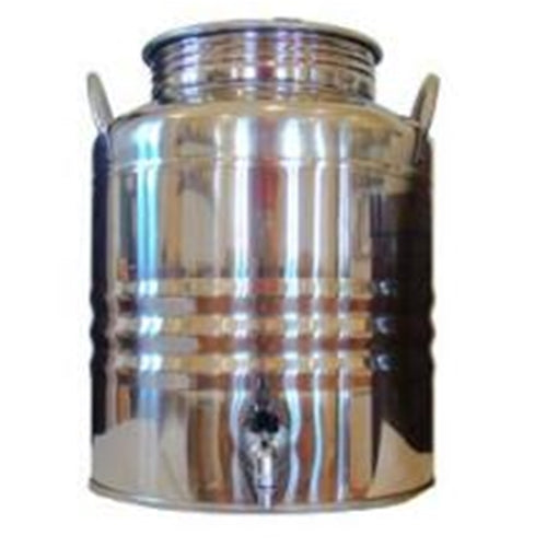 20 Liter Superfustinox with Stainless Steel Spigot