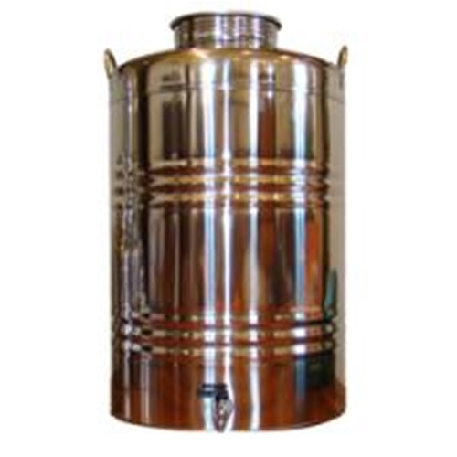 100 Liter Superfustinox with Stainless Steel Spigot