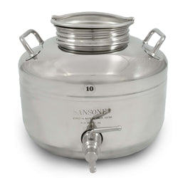 10 Liter Fusti with Stand and Spigot