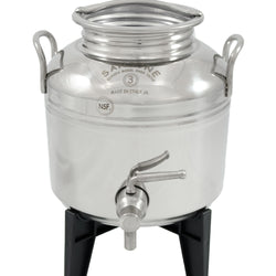 3 Liter Fusti with Stand and Spigot