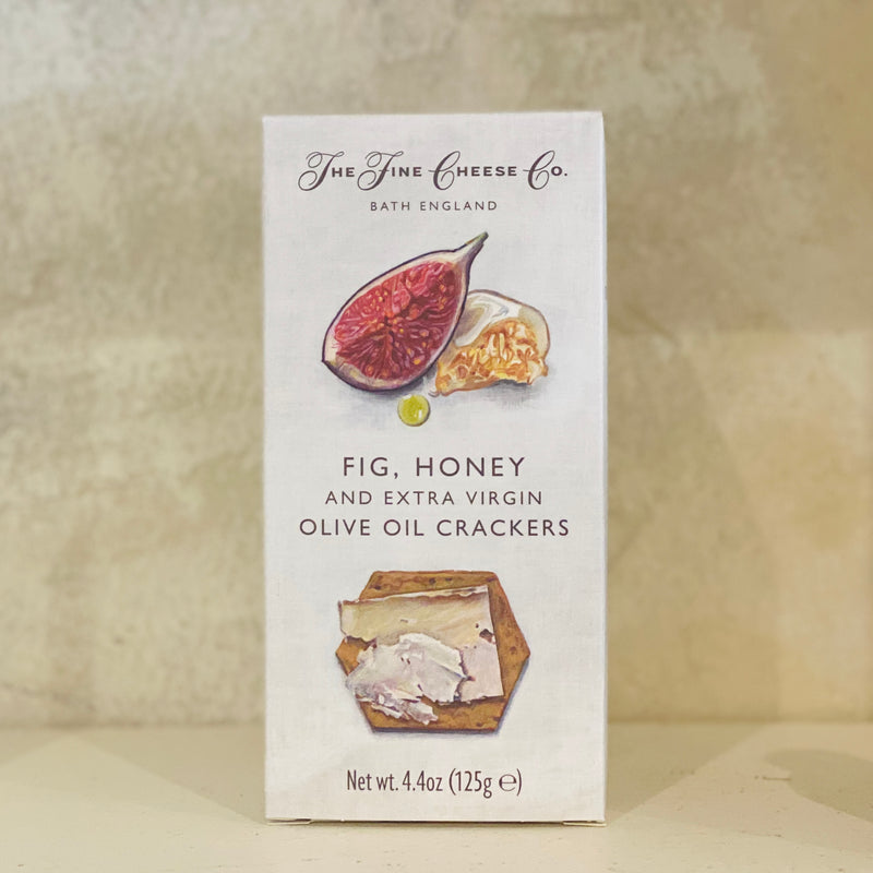 Fig, Honey and EVOO Crackers