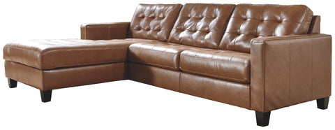 Baskove Signature Design by Ashley 2-Piece Sectional with Chaise