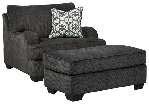 Charenton Benchcraft 2-Piece Chair and Ottoman Set