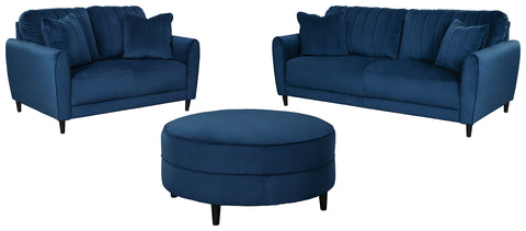 Enderlin Signature Design 3-Piece Living Room Set with Ottoman