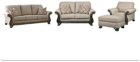 Claremorris Benchcraft 4-Piece Living Room Set
