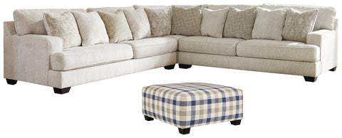Rawcliffe Signature Design 4-Piece Living Room Set