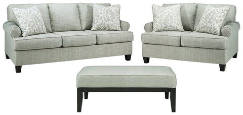 Kilarney Signature Design 3-Piece Living Room Set with Ottoman